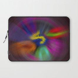 color circulo Laptop Sleeve
