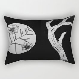 Spring Transition Rectangular Pillow