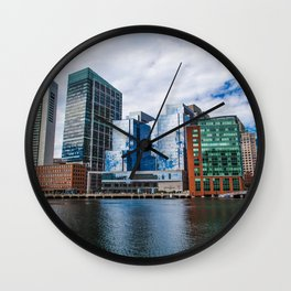 Seaport Districy Wall Clock