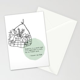 Normality is a paved raod Stationery Cards