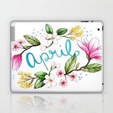 April Flowers Laptop & iPad Skin