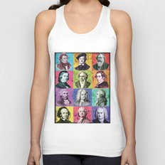 Composers Compilation Unisex Tank Top