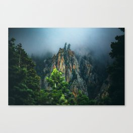 Wasatch Mountains, No. 2 Canvas Print