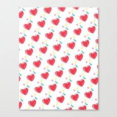 heart hearts Canvas Print