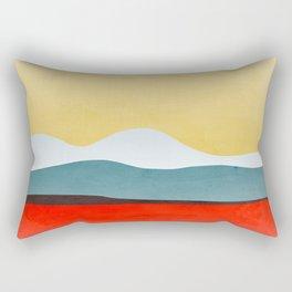Abstract landscape 2 Rectangular Pillow