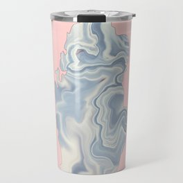 Qatar map Travel Mug