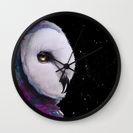 Magic Owl Wall Clock