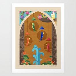 Like the Birdies Sing Art Print
