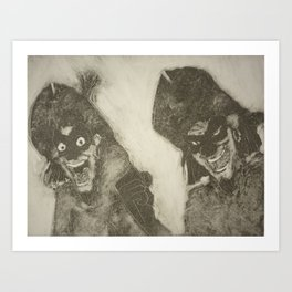 Clopin Trouillefou, The Hunchback of Notre Dame Art Print
