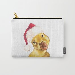 Christmas yellow duckling Carry-All Pouch