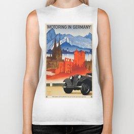 Vintage poster - Germany Biker Tank