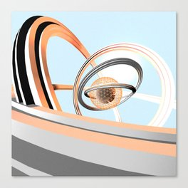 Dope Rings Canvas Print