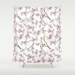 Sakura Cherry Blossoms Shower Curtain