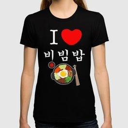 Bibimbap Korea Japan KPOP Korean T-shirt