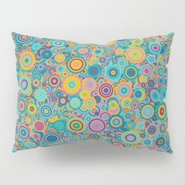 Psychedelic funky Seventies disco party Pillow Sham