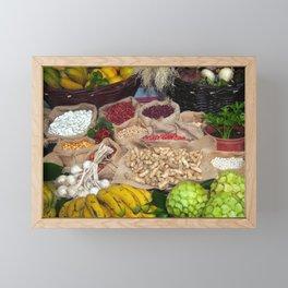 Healthy ingredients Framed Mini Art Print