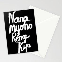 Nam Myoho Renge Kyo - Light on Dark Stationery Cards