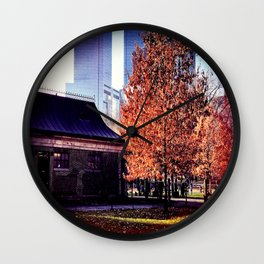 Believing In Nature Wall Clock