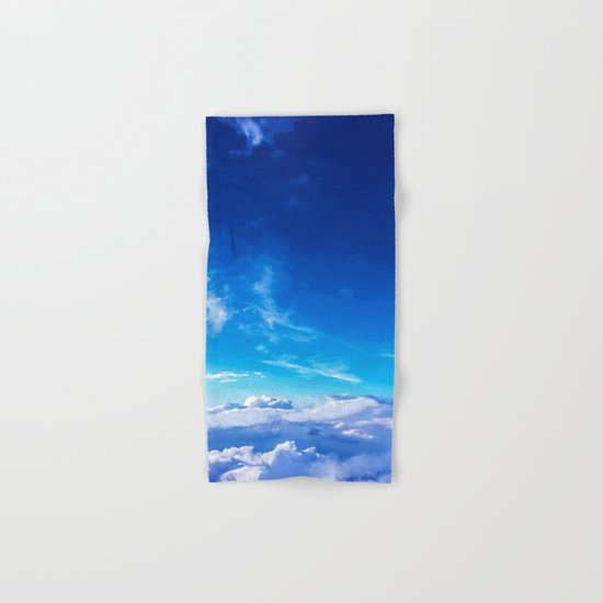 Above the clouds sky is always blue Hand & Bath Towel