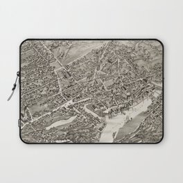 Vintage Map of Port Chester NY (1882) Laptop Sleeve