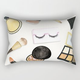 Makeup Rectangular Pillow
