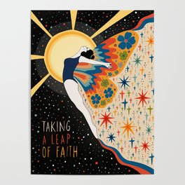 Taking a leap of faith Poster