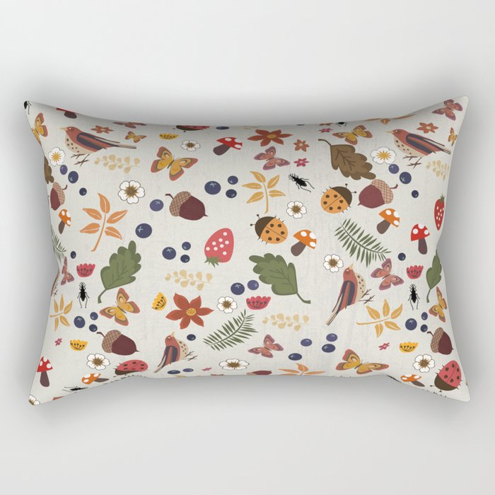 Botanical Rectangular Pillow