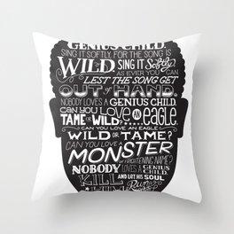 Genius Child Throw Pillow