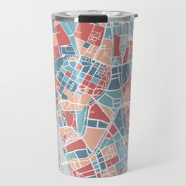 Krakow map Travel Mug