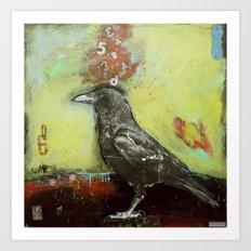 Crow3 Art Print