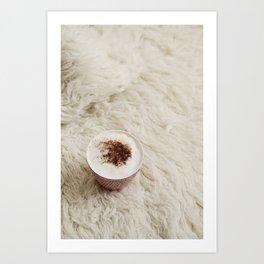 Café.  Art Print
