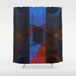 the eccentric shock of my insecurity Shower Curtain
