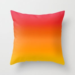 Mango Gradient Throw Pillow