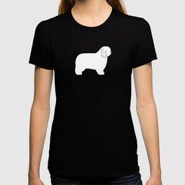 Polish Lowland Sheepdog Silhouette T-shirt