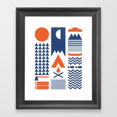 Simplify Framed Art Print