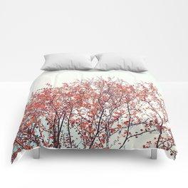 Red Tree Comforters