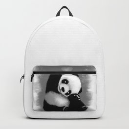 Panda Love (Monochrome) Backpack