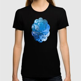 Meditating Entity (blue) T-shirt
