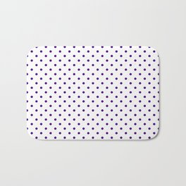 Dots (Indigo/White) Bath Mat