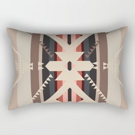 American Native Pattern No. 285 Rectangular Pillow