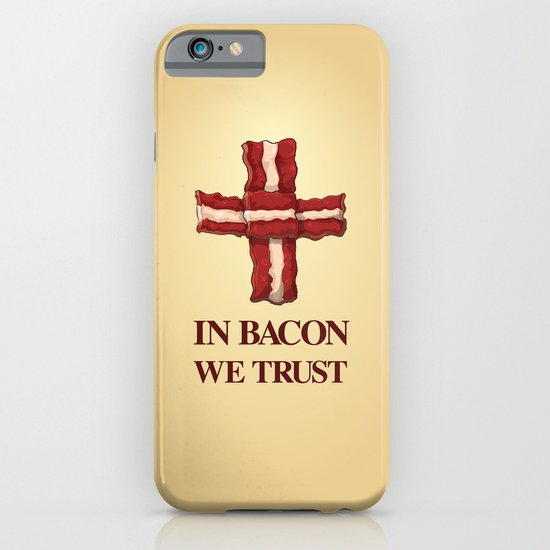 Baconicism Promo iPhone & iPod Case