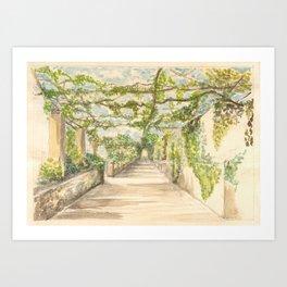 Ravello Art Print