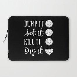 Volleyball Team Apparel | Sports Gift Idea Laptop Sleeve
