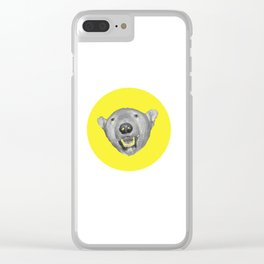 Going Wild 2 Clear iPhone Case