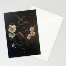 Two Snakes Stationery Cards
