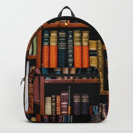The Bookshelf (Color) Backpack