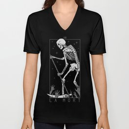 La Mort Unisex V-Neck