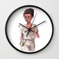 classy Wall Clocks featuring Classy by Laia™