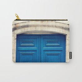 Paris door, blue Carry-All Pouch