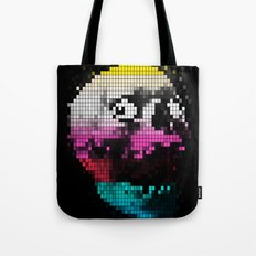 PIXEL SKULLY Tote Bag